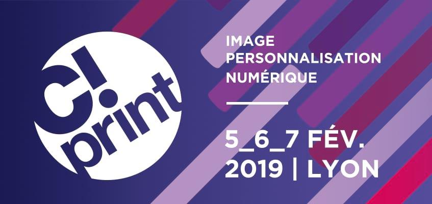 Le GMI,  partenaire de C!Print Lyon, vous invite sur le salon les 5, 6 et 7 février 2019.