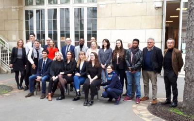 Remise des bourses de la Fondation Heidelberg France