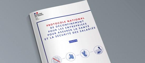 Covid-19 : publication par le ministère du travail du protocole de déconfinement