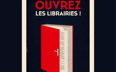 Monsieur le Président, faisons le choix de la culture en rouvrant les librairies
