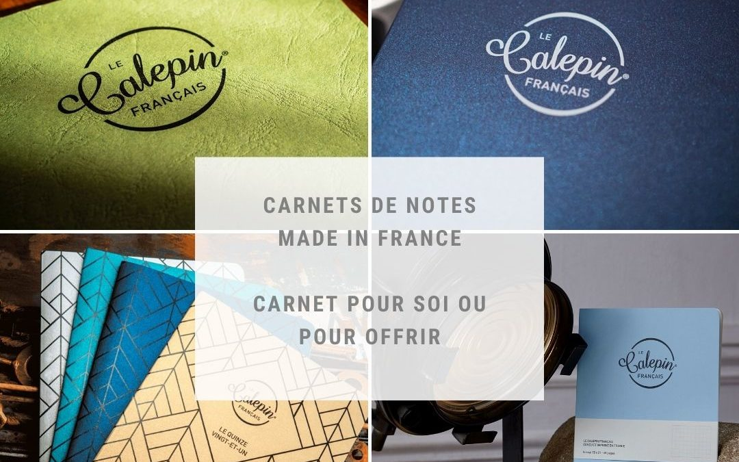 Opéra Print créé le Calepin français, le carnet de notes made in France