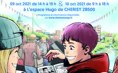 CHERISY MANGA & BD, de retour pour une troisième édition