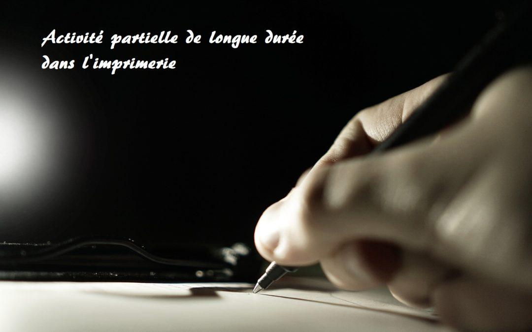 Signature d'un accord sur l'activité partielle de longue durée (APLD) dans la branche imprimerie, industries graphiques et sérigraphie