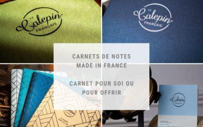 Opéra Print créé le Calepin français, le carnet de notes made in France