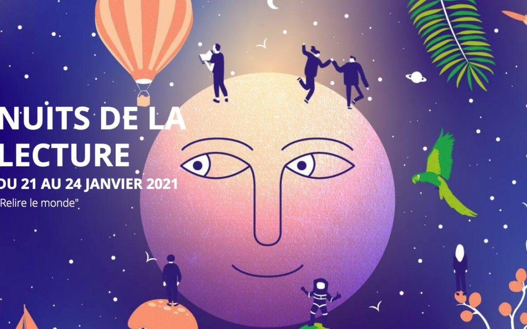 Nuits de la lecture : « relisez le monde » du 21 au 24 janvier 2021