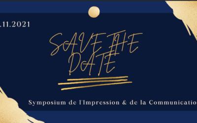Save The Date : Symposium de l'Impression et de la Communication, jeudi 4 novembre 2021